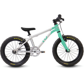 "Early Rider Belter Trail 16"" Kinderrad brushed aluminum/cyan"